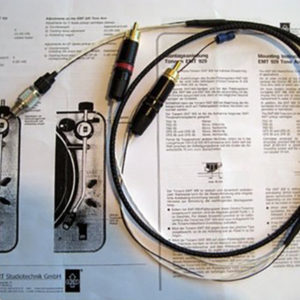EMT Phono tonearm interlink