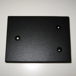 Thorens Armboard NOS Undrilled tonearm mounting