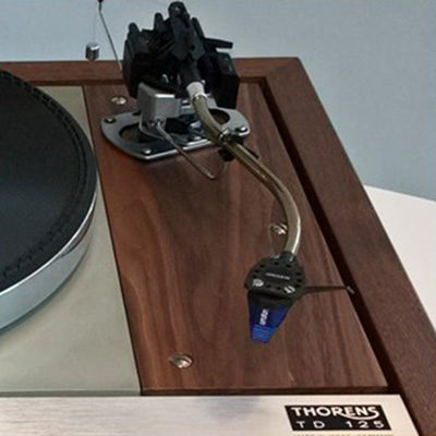 Thorens TD125 with tonearm and cartridge (occ)